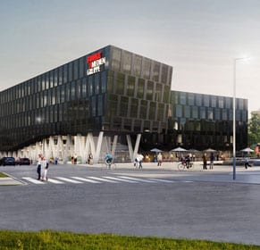 Funke Media Office, Neubau, Essen
