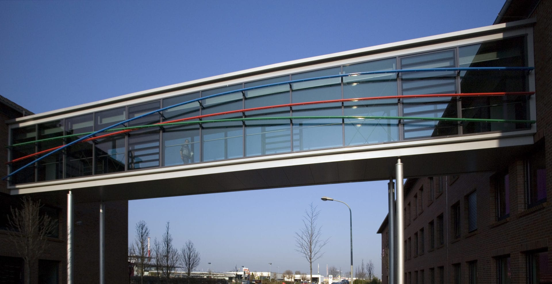 Verbindungsbrücke Kreissparkasse
