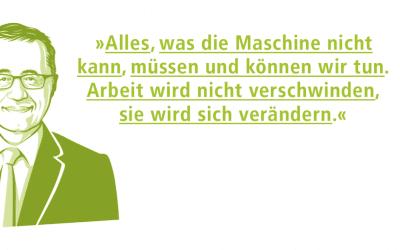 """Kundenzeitung: Schwerpunktthema """"Arbeit"""""""