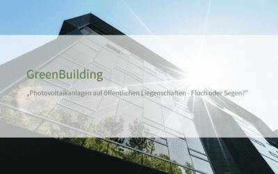 Photovoltaik – Handlungsdruck der öffentlichen Bauverwaltungen